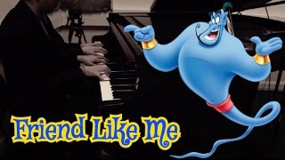 Friend Like Me 4 Hand Piano Cover || Atomic Melody
