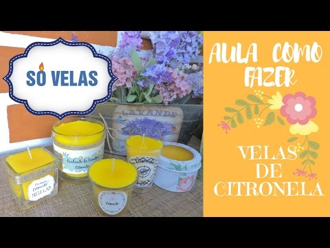 Vela de Citronela - rec 2
