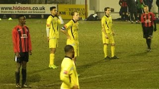 preview picture of video 'Chatham Town U21 v Faversham Town U21 - Feb 2015'