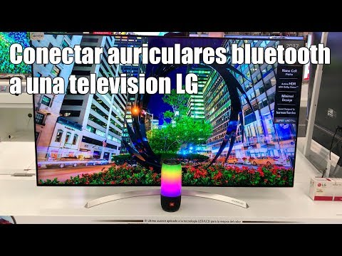 Como conectar altavoces bluetooth a una television LG 2017 - 2018