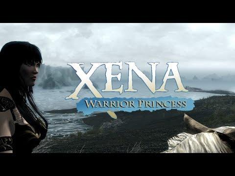 Skyrim PC - Xena: Dawnguard!