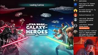 Star Wars: Galaxy Of Heroes - Thrawn Gameplay Livestream