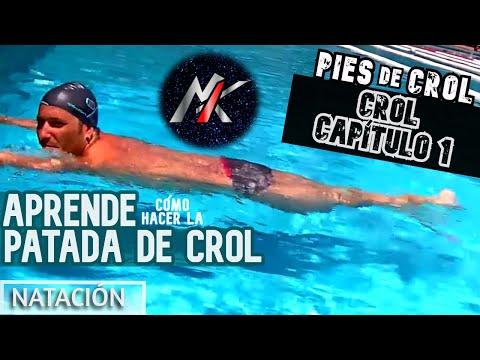 APRENDER A NADAR 1x04 (1/3): Patada de Crol