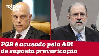 Moraes suspende análise do pedido de investigação contra Aras