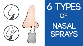 6 Different Types of Nasal Sprays | Which is Best For You?