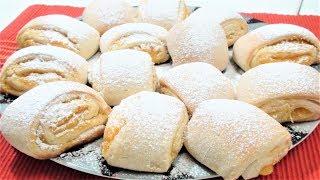 Печенье с апельсиновой начинкой. Ароматные печенье.Готовятся без проблем.Biscuits with orange peanut