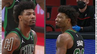 Marcus Smart Intentionally Misses the FT to Give the Blazers a Tough Final Shot   April 13, 2021