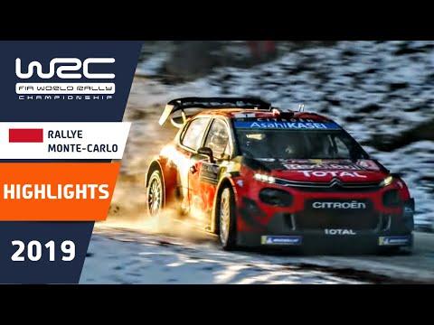 WRC/Rally MonteCarlo 2019 - resumen (inglés)