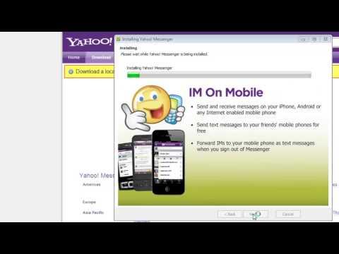 comment installer yes messenger