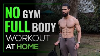 NO GYM FULL BODY WORKOUT AT HOME   BEST HOME EXERCISES