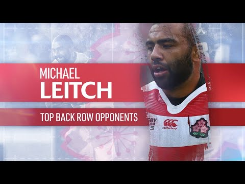 Toughest back row opponents in rugby | Japan captain Michael Leitch