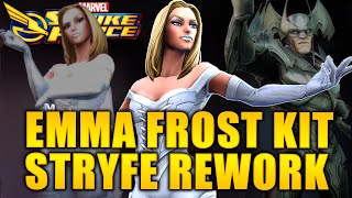 Stryfe REWORK - Emma Frost Kit - MARVEL Strike Force - MSF