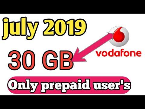 Vodafone Free Data 2019