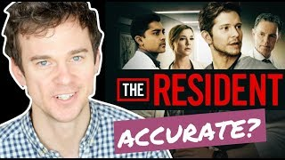How accurate is THE RESIDENT? Real life DOCTOR reaction - Video Youtube
