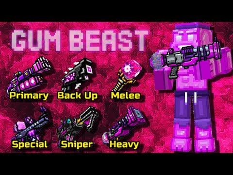 Pixel Gun 3D - Gum Beast Set