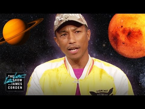 Pharrell Williams Chooses Nat Geo Over Space & Safaris