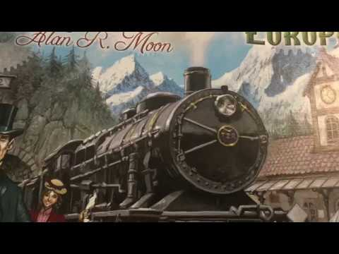 Ticket to ride: Europe 5p Playthrough 2 of 2