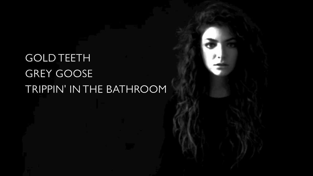 Lorde perfect places