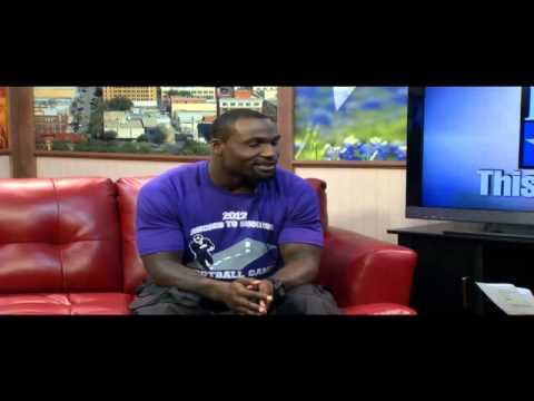 KTXS Anchor Mari Cockerell Interviews Dominic Rhodes About His Big Country Football Camp