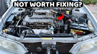Everything Wrong With My $800 Car! Is it Worth Fixing It?