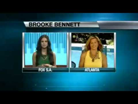 KABB-TV Interview with Three-Time Olympic Gold Medalist Swimmer Brooke Bennett