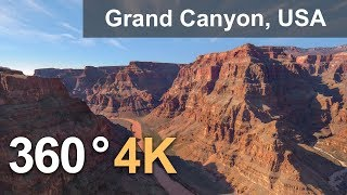 Grand Canyon, USA. 4K 360 video
