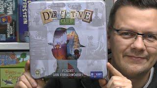 Detective Club (Huch!) Hammerspiel aber… oje, 4 Spieler braucht ihr dafür mindestens! - ab 8 Jahre