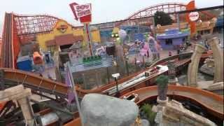 preview picture of video 'Monorail (POV) 2012 Pleasure Beach Blackpool'