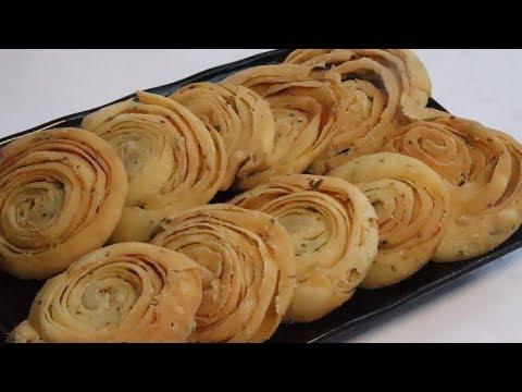 मठरी बटर नमकीन खस्ता लेयर के साथ कम सामग्री से बनाये | Namkeen Mathri Recipe | Geeta Cooking World
