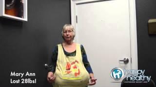 Mary Ann Lost 28lbs!