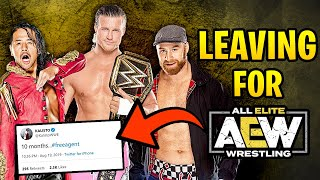 10 WWE Superstars Who MIGHT LEAVE For AEW! - Sami Zayn, Nakamura & more