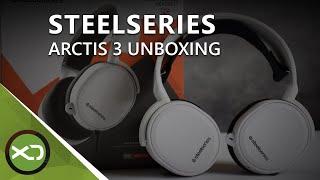 Unboxing zum SteelSeries Arctis 3