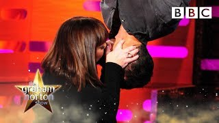 Dawn French and Bear Grylls re-enact the Spiderman kiss | The Graham Norton Show - BBC