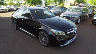 2015 Mercedes E63 S-AMG AWD Sedan for sale at eimports4Less