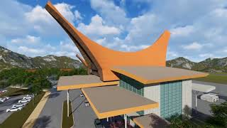 Video Profil Perencanaan Pembangunan Bandara Buntu Kuni' Kab. Tana Toraja Oleh Kemenhub RI