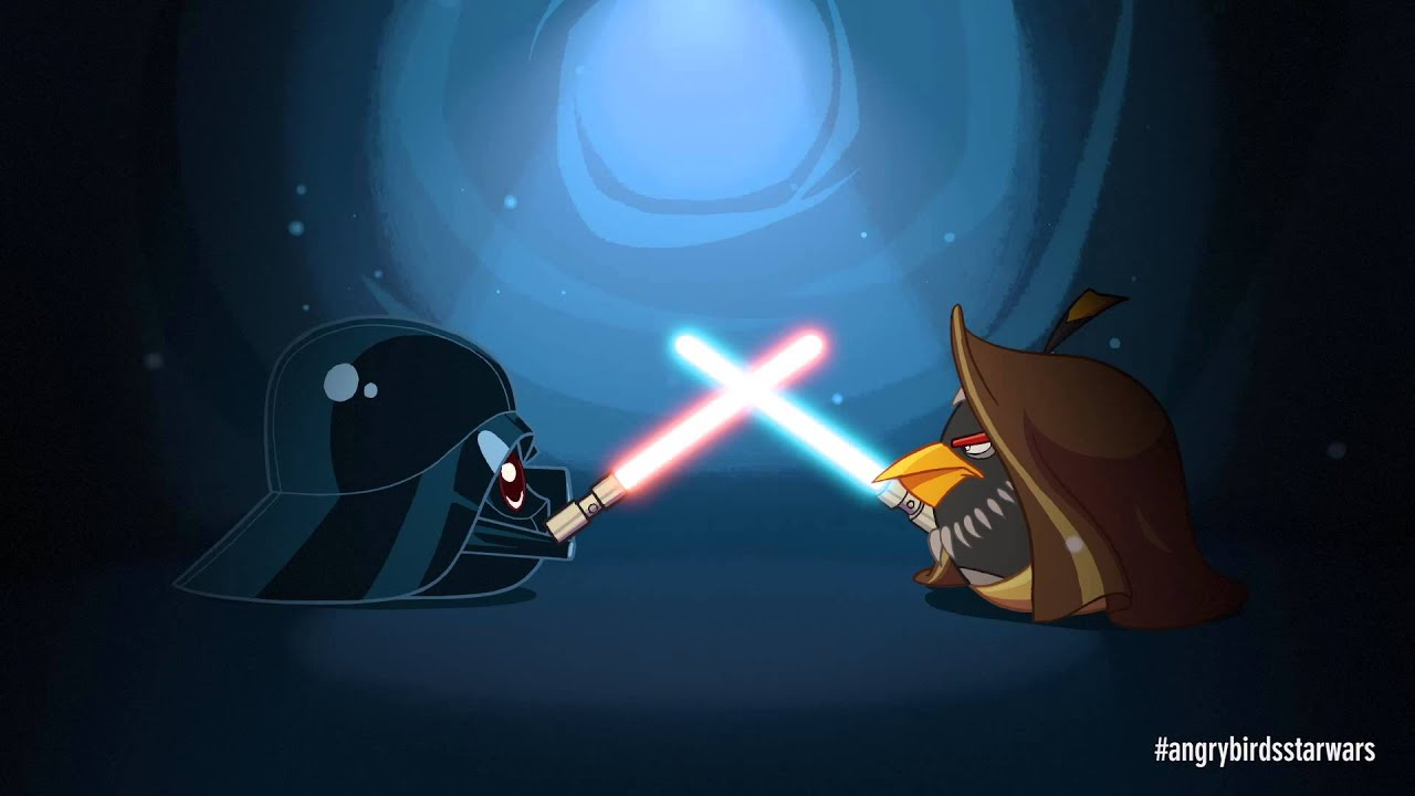 Angry Birds Star Wars' Only Hope? Obi-Wing Kabirdy, Of Course