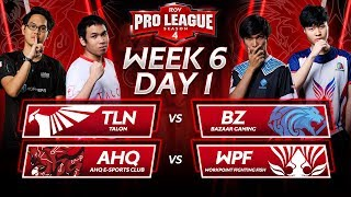 Match 39 | Talon vs BAZAAR Gaming  Match 40 | AHQ E-Sports Club vs WorkPoint Fighting Fish