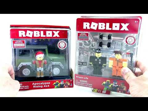 ROBLOX Prison Life Game Pack Series 2 Unbloxing Review