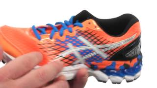 Asics Gel-Nimbus 17 GS Junior Shoes Lila video