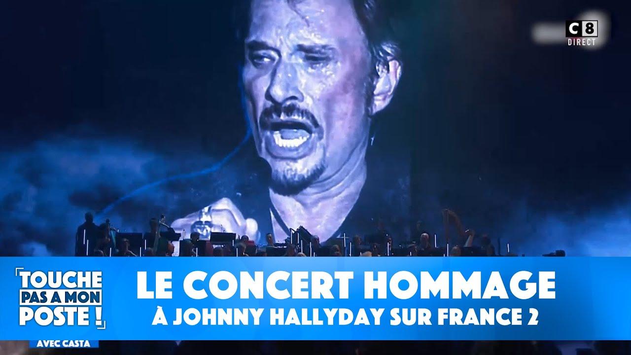 Retour sur le concert hommage à Johnny Hallyday sur France 2