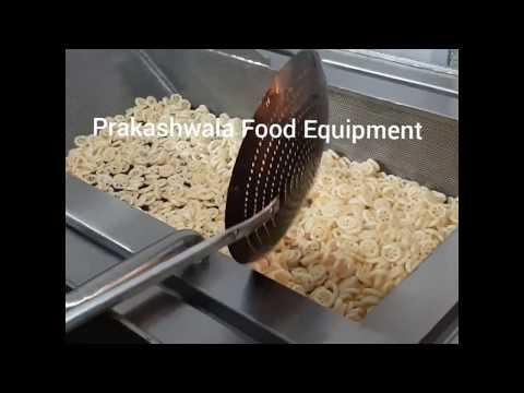 Fryums and Kurkure Fryer Machine