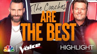 The Coaches Who Have Been on The Voice Are Truly the Greatest - The Voice Road to Lives