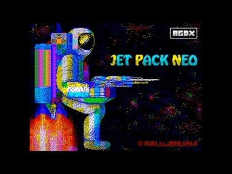 Jet Pack Neo (2021) Walkthrough + Review, ZX Spectrum
