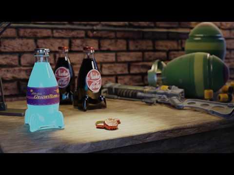 Фото Фан-Арт анимация по мотивам вселенной Fallout Выполнено в Blender, Cycles engine (режим трассировки лучей)