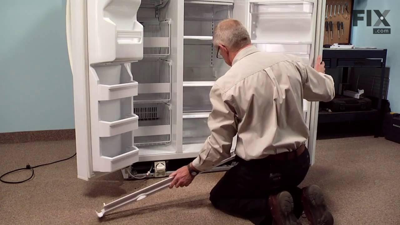Replacing your Whirlpool Refrigerator Lower Door Closing Cam