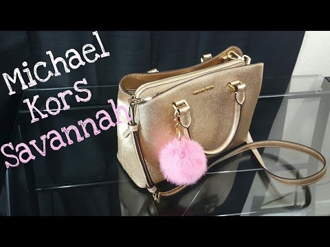 Michael Kors Savannah Medium Satchel | Bag Review
