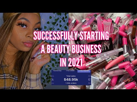 , title : 'HOW TO SUCCESSFULLY START A COSMETIC BUSINESS in 2021✨  Building a 5 Figure Business 💰💕