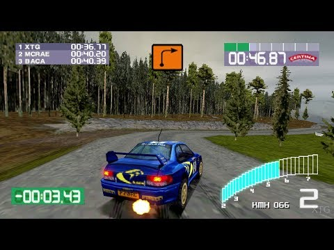 Gameplay de Colin McRae Rally 2.0