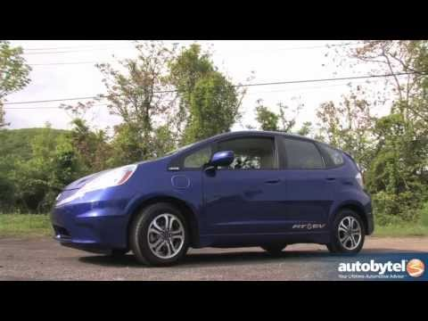 2013 Honda Fit EV Quick Spin Video Review