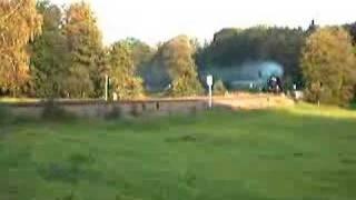 preview picture of video 'BR 52 Dampflok Sonderfahrt Gera-Cheb-Gera - Pirk'